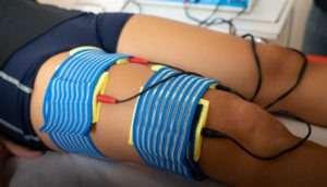 elettroterapia quadricipite